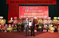 Bộ Y tế tổ chức lễ công bố  quyết định bổ nhiệm Giám đốc Học viện Y Dược học cổ truyền Việt Nam