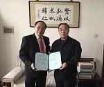 Trường Đại học Trung Y dược Thiên Tân - Trung Quốc trao danh hiệu Giáo sư danh dự cho TS Đậu Xuân Cảnh - Giám đốc Học viện Y-Dược học cổ truyền Việt Nam