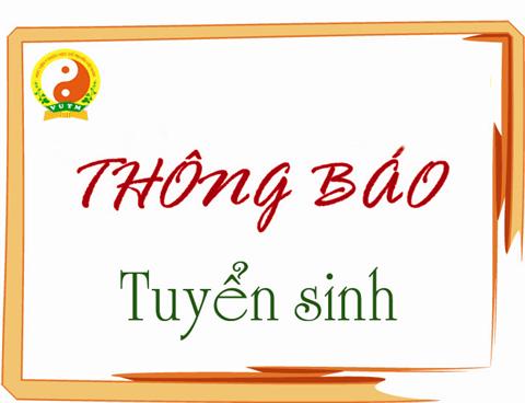 Thông báo tuyển sinh hệ Đại học YHCT - Chương trình liên kết đào tạo Việt Nam - Trung Quốc năm 2019
