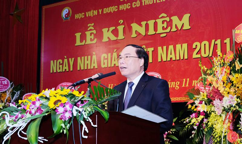 Học viện Y Dược học cổ truyền Việt Nam Long trọng kỷ niệm ngày Nhà giáo Việt Nam 20/11
