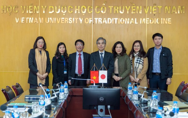 Đoàn công tác Đại học Kỹ thuật Tsukuba Nhật Bản sang thăm và làm việc tại Học viện