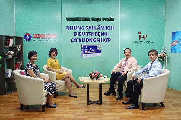 Truyền hình trực tuyến: Những sai lầm khi điều trị bệnh   cơ xương khớp