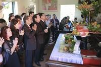 Học viện Y Dược học cổ truyền Việt Nam tổ chức lễ dâng hương tưởng nhớ 44 năm ngày mất lương y Nguyễn Kiều