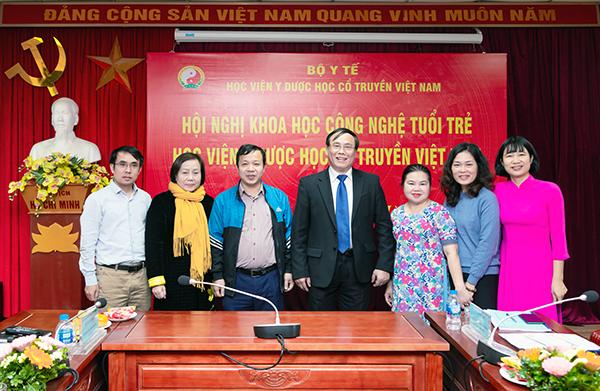 Học viện Y - Dược Học cổ truyền Việt Nam tổ chức Hội nghị KHCN tuổi trẻ năm 2020