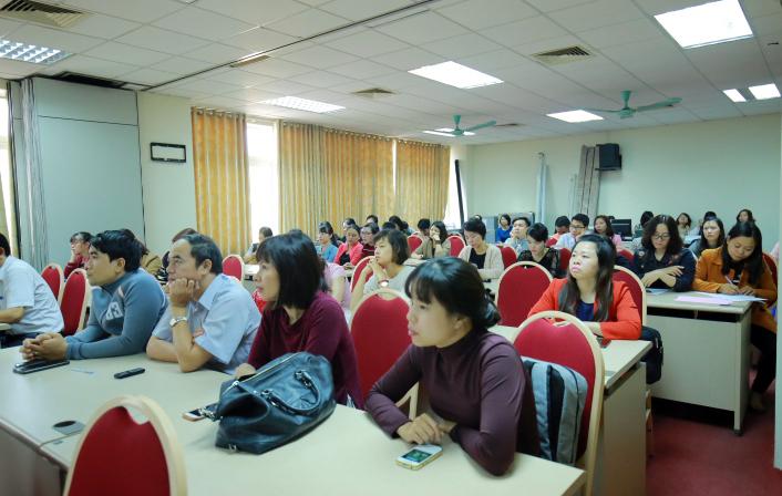 Học viện Y - Dược học cổ truyền Việt Nam tổ chức sinh hoạt khoa học thường kỳ cho Cán bộ giảng viên - tháng 11