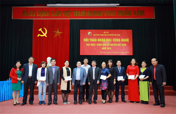 Học viện Y Dược học cổ truyền Việt Nam tổ chức Hội thảo khoa học Công nghệ năm 2018