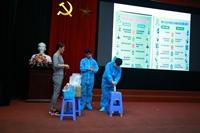Học viện Y-Dược học cổ truyền Việt Nam tập huấn phòng chống dịch bệnh Covid - 19 cho cán bộ, nhân viên Học viện