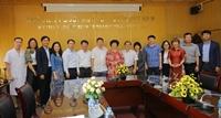 Học viện YDHCT Việt Nam làm việc với Tập đoàn TH
