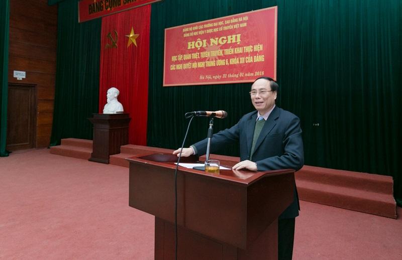 Hội nghị học tập, quán triệt, tuyên truyền, triển khai thực hiện Nghị quyết Hội nghị Trung ương 6, khóa XII của Đảng