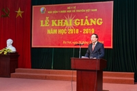 Học viện Y Dược học cổ truyền Việt Nam tổ chức khai giảng năm học 2018 – 2019