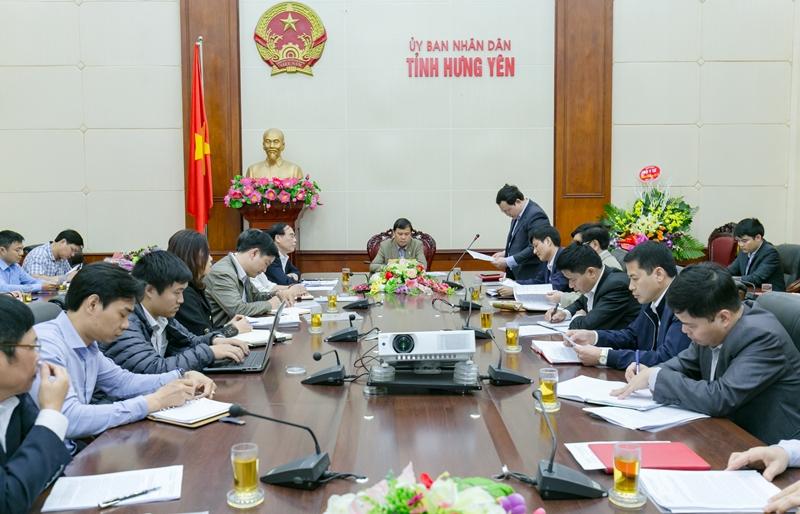 Học viện Y Dược học cổ truyền Việt Nam làm việc với UBND tỉnh Hưng Yên về việc thực hiện dự án xây mới cơ sở 2