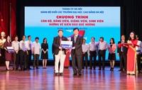 Học viện Y Dược học cổ truyền Việt Nam hướng về biển đảo quê hương