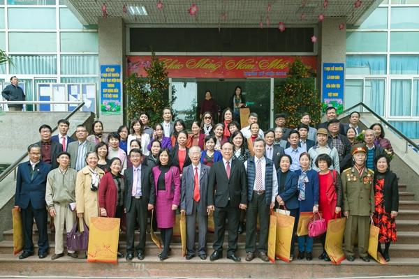 Gặp mặt cán bộ hưu trí Học viện Y Dược học cổ truyền Việt Nam nhân dịp Xuân Kỷ Hợi 2019