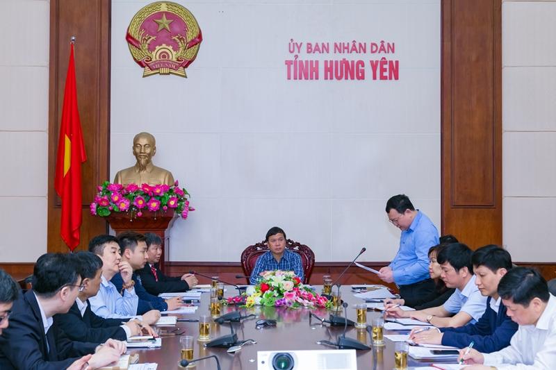 Học viện Y Dược học cổ truyền Việt Nam và đoàn khảo sát Trung Quốc làm việc với Tỉnh Hưng Yên về xây mới cơ sở 2 Học viện