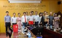 Học viện Y Dược học cổ truyền Việt Nam làm việc với Sở kế hoạch và Công nghệ tỉnh Phúc Kiến, Trung Quốc