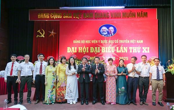 Đại hội đại biểu Đảng bộ Học viện Y-Dược học cổ truyền Việt Nam lần thứ XI, nhiệm kỳ 2020 - 2025