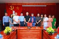 Học viện Y Dược học cổ truyền Việt Nam làm việc với Tập đoàn Bằng đạo Trung Quốc