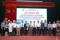 Lễ trao quyết định bổ nhiệm Phó Giám đốc Học viện  Y - Dược học cổ truyền Việt Nam