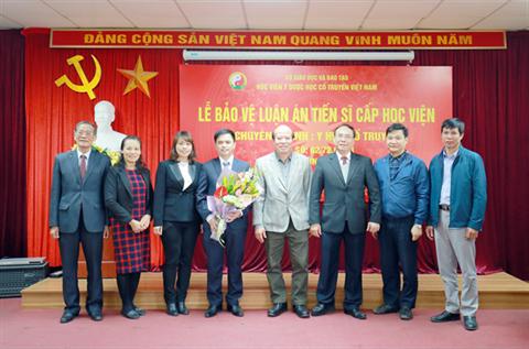 Lễ bảo vệ luận án Tiến sĩ cấp Học viện của Nghiên cứu sinh Phùng Văn Tân