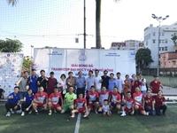 Học viện YDHCT Việt Nam vào Chung kết giải Bóng đá tranh cup Đại học Y Hà Nội mở rộng lần thứ I