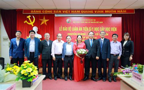 Lễ bảo vệ luân án Tiến sĩ cấp Học viện của Nghiên cứu sinh Trần Thị Hồng Ngãi