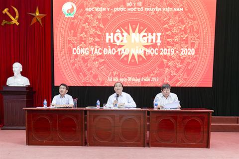 Hội nghị công tác đào tạo năm học 2019 - 2020