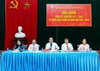 Học viện Y Dược học cổ truyền Việt Nam tổ chức Hội nghị Tổng kết năm học 2017 - 2018 và triển khai nhiệm vụ năm học 2018 - 2019