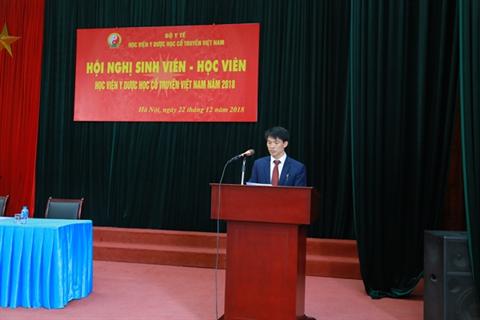 Học viện Y Dược học cổ truyền Việt Nam tổ chức hội nghị Sinh viên - Học viên