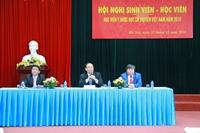 Học viện Y Dược học cổ truyền Việt Nam tổ chức Hội nghị sinh viên – học viên năm 2018