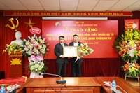 Danh hiệu Thầy thuốc Nhân dân, Thầy thuốc Ưu tú được trao cho 5 thầy cô tại Học viện Y-Dược học cổ truyền Việt Nam