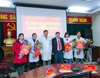 Học viện YDHCT Việt Nam công bố và trao Quyết định Giảng viên thỉnh giảng cho 5 bác sĩ Bệnh viện 19-8 Bộ Công an