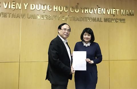 Học viện Y Dược học cổ truyền Việt Nam bổ nhiệm lại chức vụ Trưởng phòng Tài chính kế toán và Phó trưởng phòng Tổ chức cán bộ