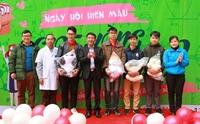 """Học viện Y Dược học cổ truyền Việt Nam tưng bừng ngày hội hiến máu """"Giọt hồng lương y 2"""""""