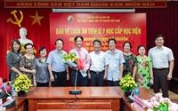 Lễ bảo vệ luận án Tiến sĩ y học cấp Học viện của Nghiên cứu sinh Nguyễn Văn Tâm