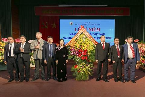 Học viện Y Dược học cổ truyền Việt Nam long trọng tổ chức lễ kỉ niệm ngày thầy thuốc Việt Nam và khánh thành Bệnh viện Tuệ Tĩnh