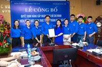Lễ công bố Quyết định nâng cấp Đoàn TNCS Hồ Chí Minh Học viện YDHCT Việt Nam trực thuộc Thành đoàn Hà Nội
