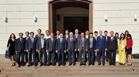 Giám đốc Học viện Y Dược học cổ truyền Việt Nam tham dự hội nghị Hiệu trưởng các trường Đại học ở Hungari