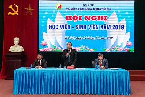 Học viện tổ chức Hội nghị học viên - sinh viên năm 2019